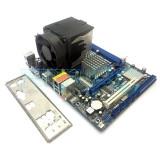 PROMOTIE! Kit Intel Core 2 Duo E7500 2.93GHz + Placa de baza ASRock GARANTIE!, Pentru INTEL, LGA775, DDR2