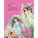 Carte cu Puzzle Povesti cu Zane