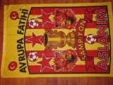 Steag fotbal - GALATASARAY - campioana a Turciei (dimensiuni mari)
