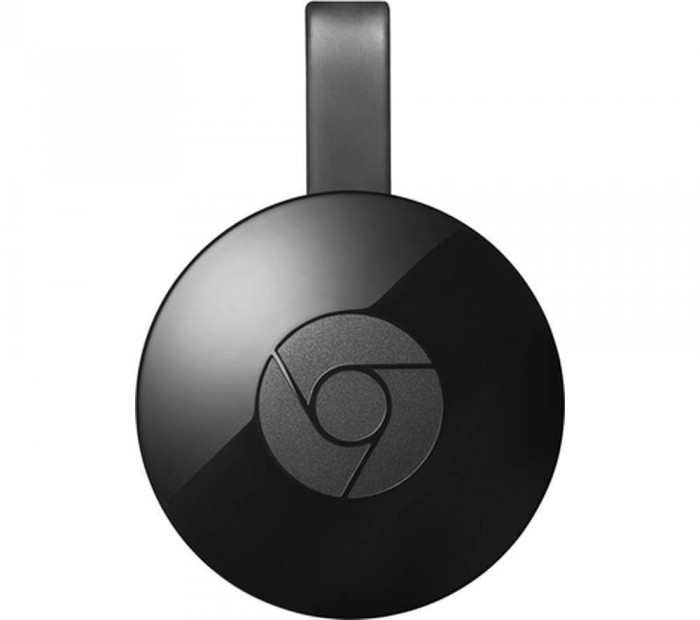 Media player Google Chromecast 2.0 Black foto mare
