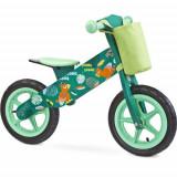 Bicicleta fara Pedale din Lemn Zap 2018 Green, Toyz by Caretero