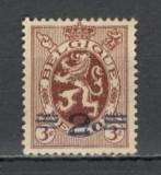 Belgia.1931 Stema-supr.  MB.28, Nestampilat
