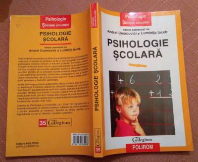 Psihologie Scolara - Andrei Cosmovici, Luminita Iacob