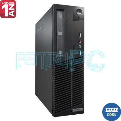 PROMO! Calculator Lenovo Intel Core 2 Duo E8400 4GB DDR3 250GB DVD-RW GARANTIE! foto