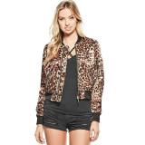 Geaca GUESS Devon Leopard - Geci Dama, Femei - 100% AUTENTIC, S, Bumbac, Guess by Marciano