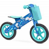 Bicicleta fara Pedale din Lemn Zap 2018 Blue, Toyz by Caretero