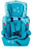 Scaun auto copii Lorelli Kiddy Aquamarine Stars, 9 - 36 kg (Turquoise)