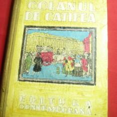 Al.Dumas tatal- Colanul de catifea -Ed.Contemporana ,interbelic,ilustr. A.Murnu