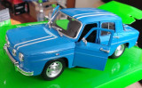 Macheta Renault 8 Gordini (Dacia 1100) - Welly, noua, scara 1:24