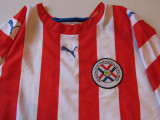 Tricou PUMA fotbal - nationala de fotbal din PARAGUAY, L, Din imagine