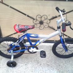 "Traker X Frame / Blue / bicicleta copii 16"" (6-8 ani), 1"