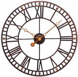 Ceas de perete din metal AMS diametru 60 cm W9537