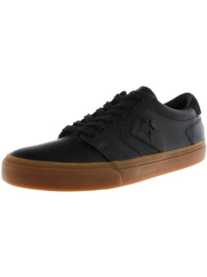 Converse Ka3 Black / Gum Ankle-High Leather Fashion Sneaker foto