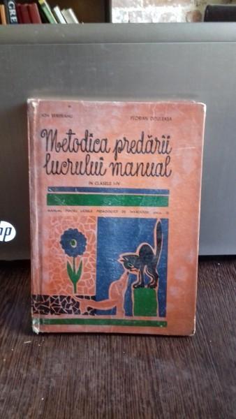 METODICA PREDARII LUCRULUI MANUAL - ION SERDEAN foto mare