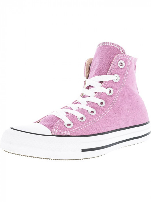 Converse All Star Hi Powder Purple Ankle-High Fashion Sneaker foto mare