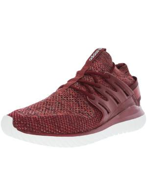 Adidas barbati Tubular Nova Mystery Red Mid-Top Running Shoe foto