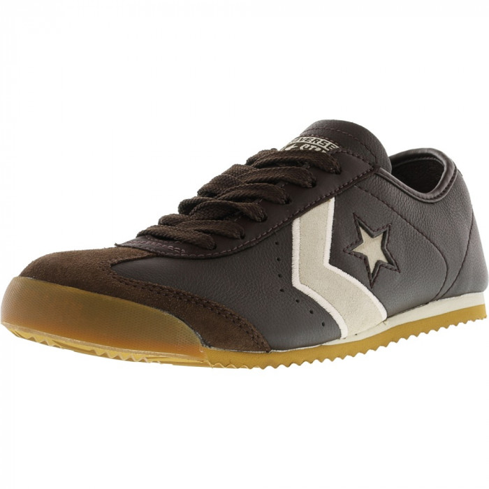 Converse Mt Star 3 Ox Chocolate / Parchment Ankle-High Fashion Sneaker foto mare