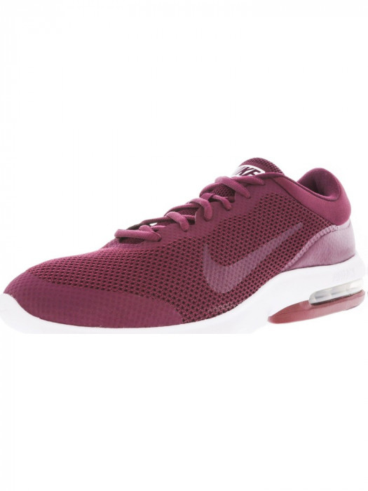 Nike barbati Air Max Advantage Team Red / Bordeaux White Ankle-High Running Shoe foto mare
