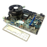 Kit Placa baza DDR3 + Intel Quad Core X5460 3.16GHz (mai bun ca Q9550) GARANTIE!, Pentru INTEL, LGA775, DDR 3, Msi