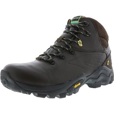 Hi-Tec barbati V-Lite Flash Hike Waterproof Chocolate / Core Gold High-Top Leather Hiking Boot foto