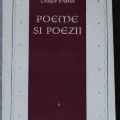 Sașa Pană - Poeme și poezii alese din cărți și din sertar (1925-1965)
