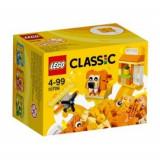 Cutie portocalie de creativitate (10709), LEGO