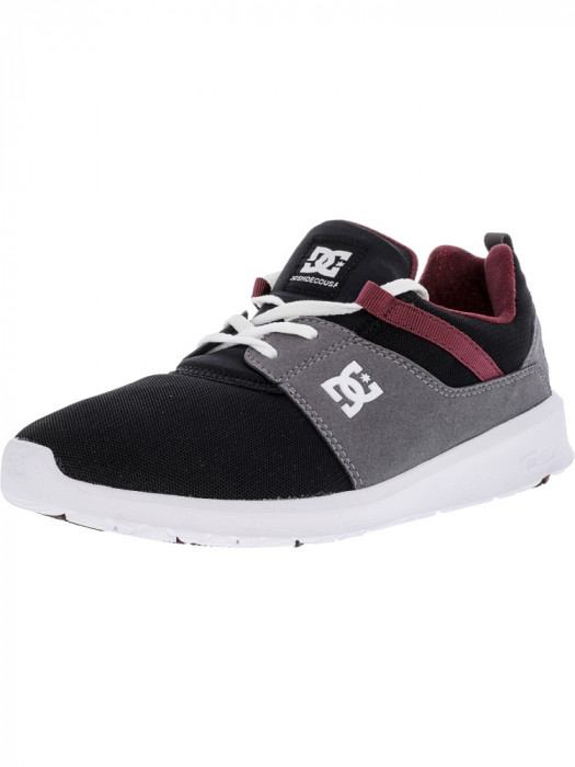 Dc barbati Heathrow Armor / Oxblood Ankle-High Fashion Sneaker