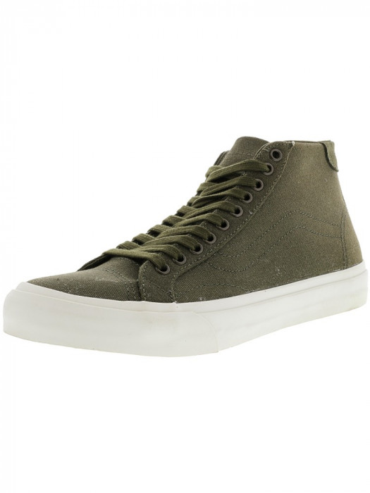 Vans Court Mid Canvas Ivy Green Mid-Top Skateboarding Shoe