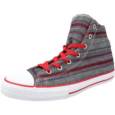Converse Chuck Taylor Hi Berry Pink High-Top Fabric Basketball Shoe foto