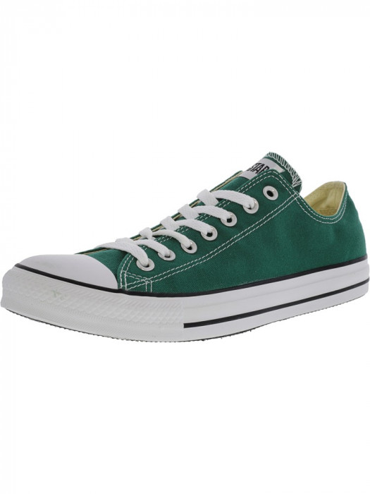 Converse Chuck Taylor All Star Ox Forest Green Ankle-High Fashion Sneaker foto mare