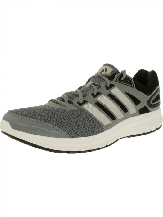 Adidas barbati Duramo 6 Tech Grey/Metallic Silver/Running White Low Top Running Shoe foto mare