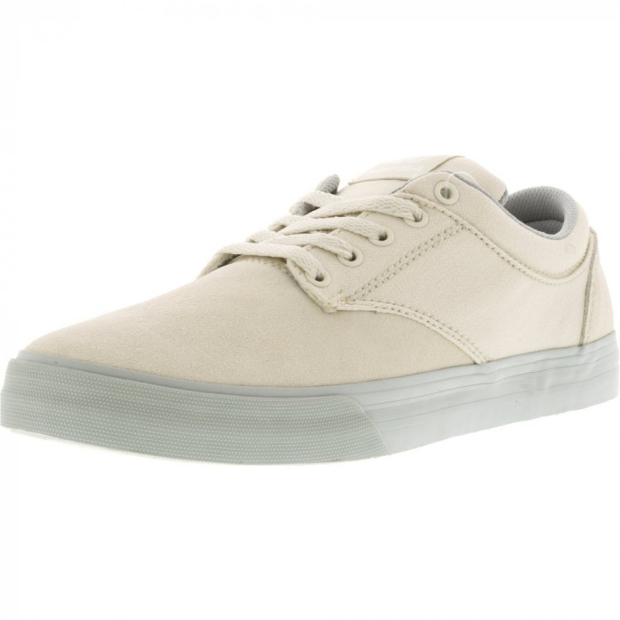 Supra barbati Chino Leather Off White / Light Grey Ankle-High Fashion Sneaker
