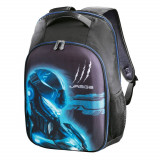 Rucsac laptop Hama Cyberbag Soldier 17.3 inch Black / Blue