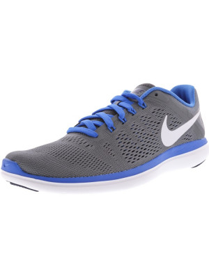 Nike barbati Flex 2016 Rn Cool Grey / White-Loyal Blue Ankle-High Running Shoe foto