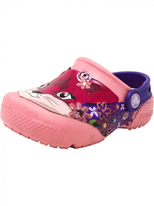Crocs Crocsfunlab Clog Peony Pink Ankle-High Clogs foto mare