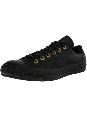Converse Chuck Taylor All Star Ox Black / Biscuit Ankle-High Fashion Sneaker foto