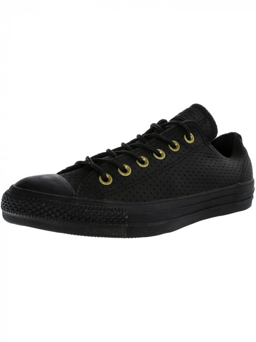 Converse Chuck Taylor All Star Ox Black / Biscuit Ankle-High Fashion Sneaker
