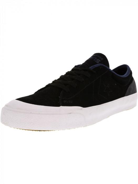 Converse Cons Summer Ox Black / Navy Low Top Canvas Skateboarding Shoe foto mare