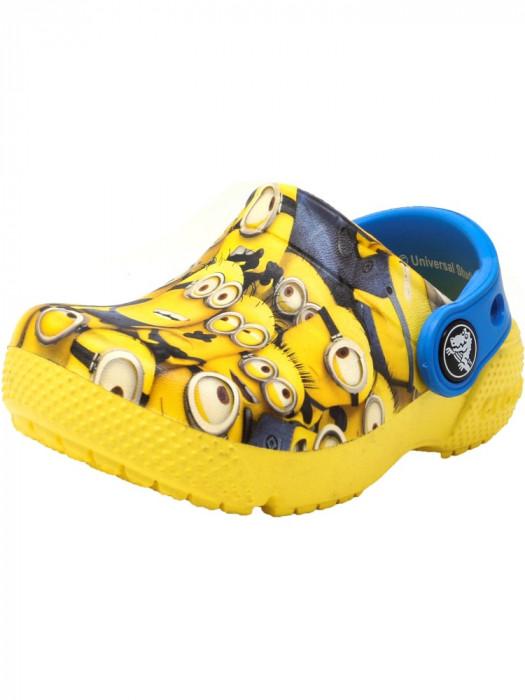 Crocs Crocksfunlab Minions Graphic Sunshine Ankle-High Clogs