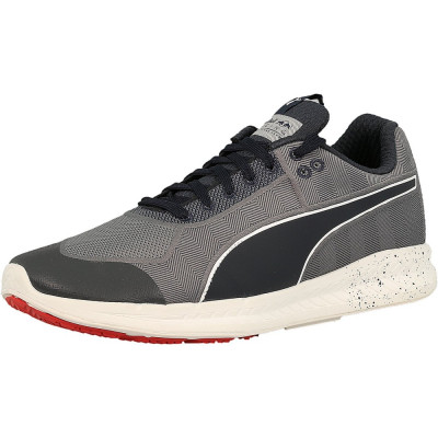 Puma barbati Red Bull Racing Mechs Ignite Smoked Pearl/Total Eclipse Ankle-High Fabric Fashion Sneaker foto