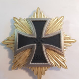 WW2-CRUCEA DE FIER-MARE STEA-ORDIN-REPLICA FRUMOASA