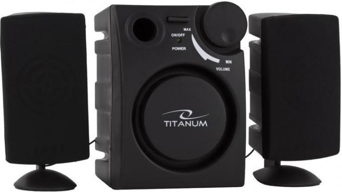 Boxe, Microsistem Audio 2.1, Esperanza Titanum TP104 Alzando 2W Black foto mare