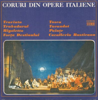 Coruri din opere italiene (disc vinil) foto