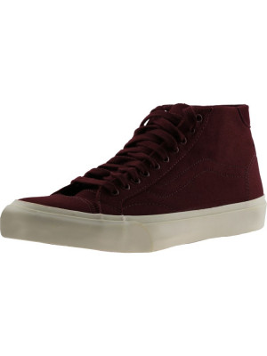 Vans Court Mid Canvas Port Royale Mid-Top Skateboarding Shoe foto