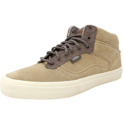 Vans barbati Bedford Craft Khaki / Antique Ankle-High Suede Fashion Sneaker foto