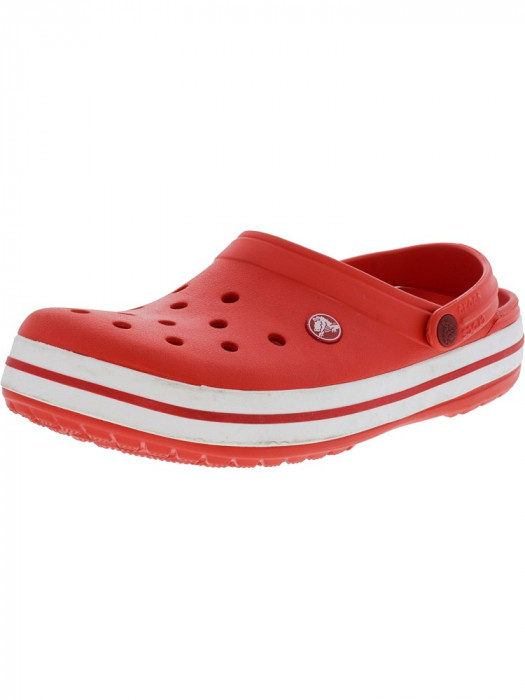 Crocs Crocband Clog Flame / White Clogs
