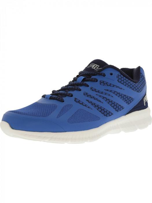 Fila barbati Memory Speedstride Prince Blue/Fila Navy/White Ankle-High Running Shoe foto mare