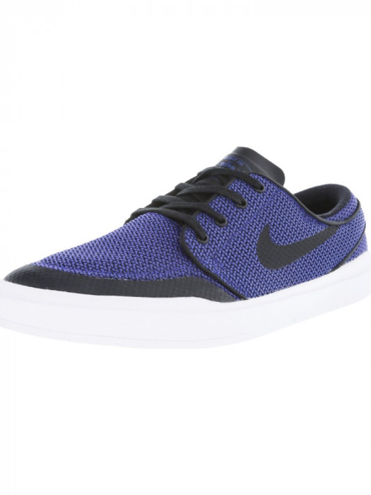 Nike barbati Stefan Janoski Hyperfeel Xt Deep Night / Black Ankle-High Skateboarding Shoe foto mare