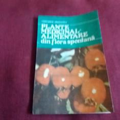 CONSTANTIN DRAGULESCU - PLANTE MEDICINAL ALIMENTARE DIN FLORA SPONTANA