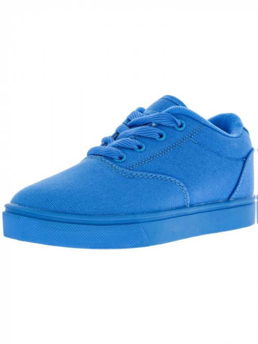 Heelys Launch Cyan Solid Ankle-High Canvas Fashion Sneaker foto mare